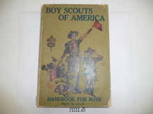 1921 Boy Scout Handbook, Second Edition, Twenty-third Printing, near MINT