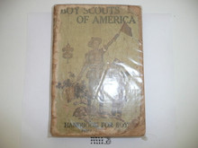 1919 Boy Scout Handbook, Second Edition, Twenty-first Printing, considerable spine and cover wear