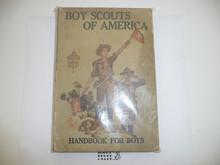 1919 Boy Scout Handbook, Second Edition, Twentieth Printing, minimal wear