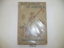1918 Boy Scout Handbook, Second Edition, Eighteenth Printing, some spine wear