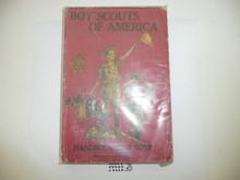1917 Boy Scout Handbook, Second Edition, Sixteenth Printing, Near MINT
