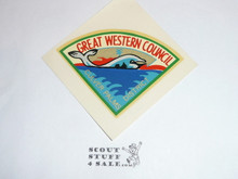 Great Western Council Culver Palms District Decal