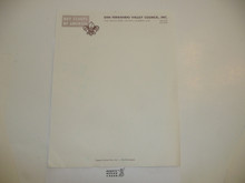 1960's San Fernando Valley Council Blank Stationary