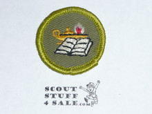 Reading - Type F - Rolled Edge Twill Merit Badge (1961-1968)