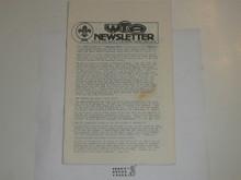 Western Traders Association Newsletter, 1982 February, Vol 10 #1