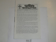 Western Traders Association Newsletter, 1982 April, Vol 10 #2