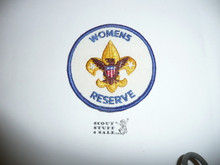Womens Reserve Patch (WR2), 1972-1977