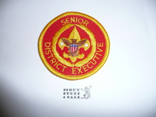 Senior District Executive Patch (SDE1), 1986-?