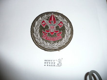 Scout Executive Patch (SE6), 1967-1969, might have been tacked to shirt