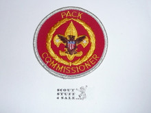 Pack Commissioner Patch (C-PCM2), 1976-1983