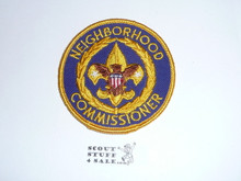 Neighborhood Commissioner Patch (NC6), 1970-1972
