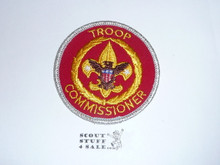 Neighborhood Commissioner / Troop Commissioner Patch (NC10), 1973-?