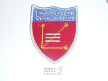Troop Leader Development Shield Patch