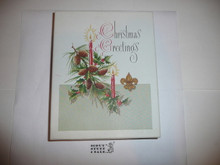 1950's Boy Scout Christmas Card set empty box