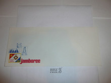 1977 National Jamboree Stationary #10 Envelope