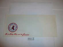1957 National Jamboree Stationary #10 Envelope