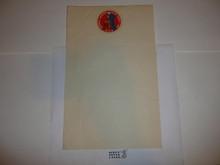 1950 National Jamboree Stationary, memo size