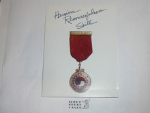 BSA Invitation to Ceremony to Present an Honor Medal
