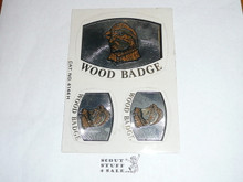 Wood Badge Bobwhite Stickers