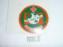 1987-88 World Jamboree Singapore Sticker