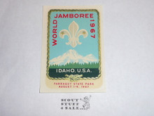 1967 World Jamboree Decal