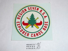 Region 7 Canoe Explorer Base Decal