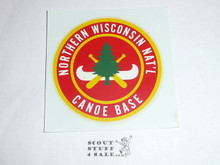 Northern Wisconsin National Canoe Base Decal