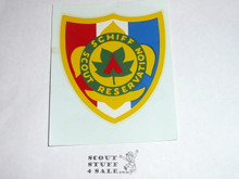Schiff Scout Reservation Shield Decal