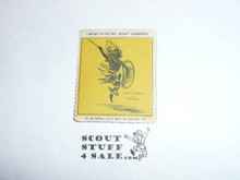 1920 World Jamboree Gummed Seal / Stamp