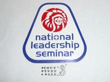 Order of the Arrow National Leadership Seminar Sticker