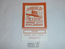 1993 National Jamboree Press Driver's License