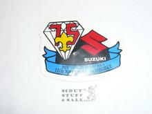 1985 National Jamboree Suzuki Sticker