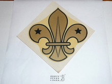 Large Foreign Scout Emblem Decal