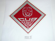 Lion Cub Scout Decal, large
