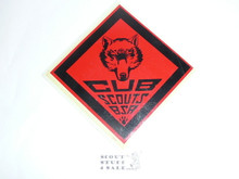 Bear Cub Scout Rank Decal