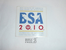 Boy Scout 2010 100th BSA Anniversary Sticker