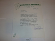 Shawnee Council Stationary, 1963