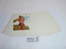 1970's Eagle Scout Place Card Table Topper