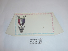 1970's Cub Scout Place Card Table Topper