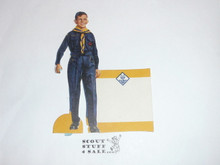 """1960's Cub Scout """"Cubs BSA"""" Place Card Table Topper"""