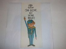 1968 Cub Scout Birthday Card with Cub on the Cover, Happy Birthday on the inside
