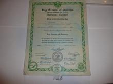 1940 National Charter for a Neighborhood Patrol