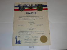 1950 Explorer Scout Post Charter, February