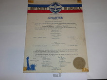 1951 Sea Scout Ship Charter, January