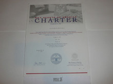 2000 Cub Scout Pack Charter, December