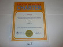 1976 Cub Scout Pack Charter, May