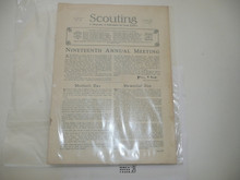 1929, May Scouting Magazine Vol 17 #5, Cover Missing