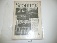 1929, November Scouting Magazine Vol 17 #11