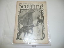1929, December Scouting Magazine Vol 17 #12, Spine Wear