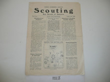 1929, August 10 Scouting Magazine World Jamboree Edition 10th Issue